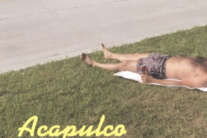 guillermo gudino acapulco anywhere postcards performance contemporary photography sense of place