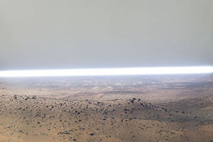 guillermo gudino photography art mexican background mars horizon representation installation new topographic landscape contemporary